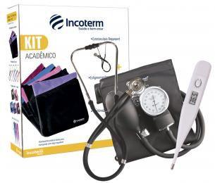 Kit Acadêmico KA 100 Preto - Incoterm