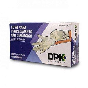 Luva Látex com Pó DPK - Descarpack