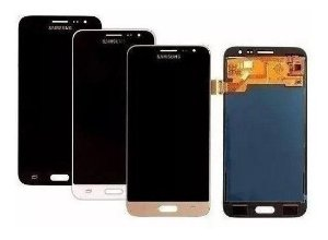 Tela Frontal Display Samsung J3 J300 J320 C/ Brilho