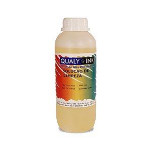 Solução de Limpeza Diluída 1 litro Qualy Ink