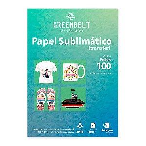 Papel para Sublimação R90 A4 110g - Pacote com 100 folhas Greenbelt
