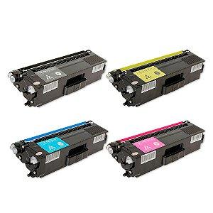 Kit 4 Toners para Brother TN310   HL4150CDN CMYK Compativel