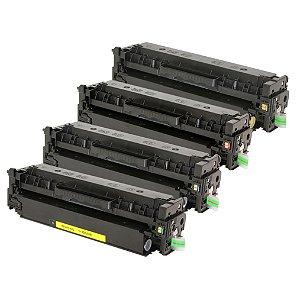 Kit 4 Toner para HP 380 CMYK Compatível