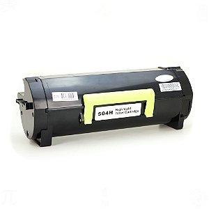 Toner para Lexmark  504H | MS 310 | 410 | 510 5K Compatível