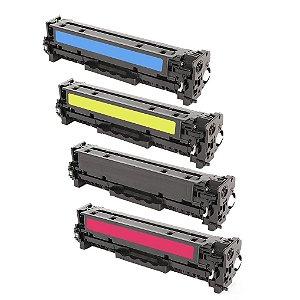 Kit 4 Cartuchos para HP PRO 400 | M451DW | 305A CMYK Compatível