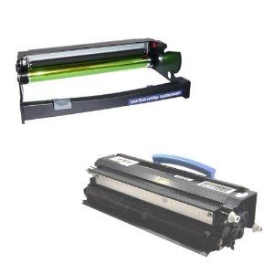 Kit Fotocondutor + Toner Compativel para Lexmark E350 Compatível