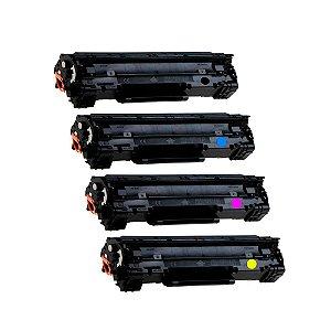 Kit 4 Toners para HP 201A   M252DW   M277DW   CMYK Compatível