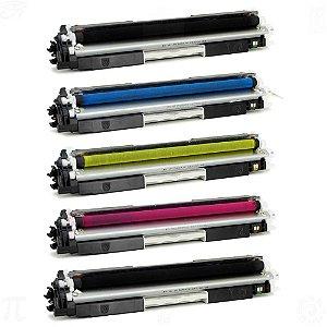 Toner para HP CP1025 | CE310A | 126 CMYK + Toner HP CE310A | 126A