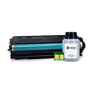 Kit Toner e Chip + Refil 70g Valejet para HP 283a | M127FN Compatível