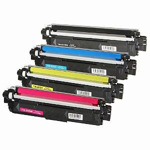 Kit 4 Toners para Brother TN 225 Black | TN 221 Coloridas Compatível