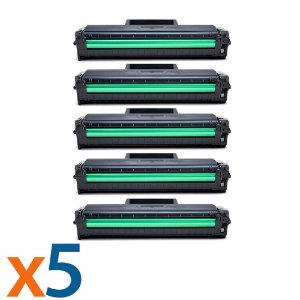 Kit 5 Toners para Samsung ML 2165   SCX 3400   MLT D101S Compatível
