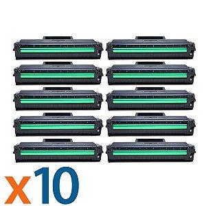 Kit 10 Toners para Samsung ML 2165 | SCX 3400 | MLT D101S Compatível