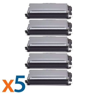 Kit 5 Toners para Brother TN 720 | 750 | 780 | 3332 Universal Compatível