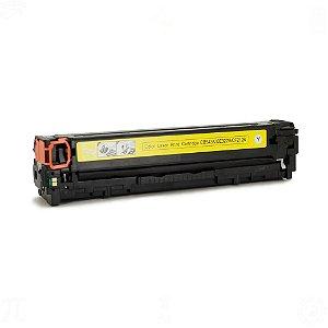 Toner para HP CP1215 | CM1415 | CB542A | CE322A Universal Yellow Compatível