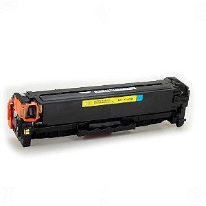 Toner para HP CP2025 | CC531A | CE411A Universal Cyan Compativel