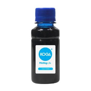Tinta Universal para HP Cyan 100ml Corante Koga