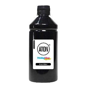 Tinta para Cartucho HP 21 27 56 Black 500ml Pigmentada Aton