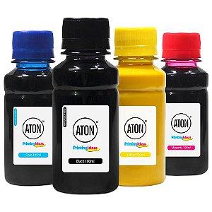 Kit 4 Tintas para Cartucho 932XL | 933XL CMYK 100ml Pigmentada Aton