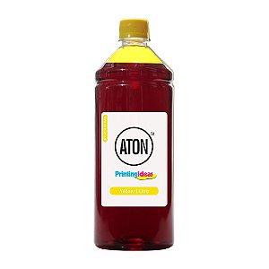Tinta para HP 8100   8600 Yellow 1 Litro Pigmentada Aton