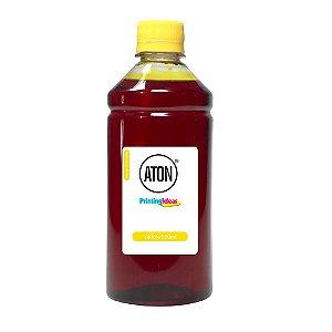 Tinta para Cartucho HP 664 | 664XL Yellow 500ml Corante Aton