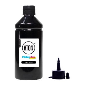 Tinta L200 | L355 para Epson Bulk Black 500ml Pigmentada Aton