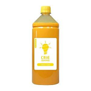 Tinta para Sublimação Premium Crie Sempre Yellow 1 Litro