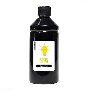 Tinta para Sublimação Premium Crie Sempre Black 500ml