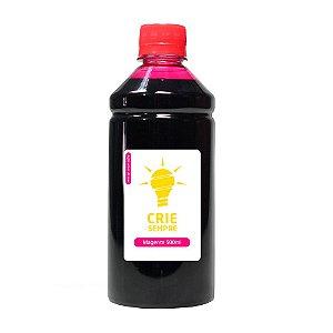 Tinta para Sublimação Premium Crie Sempre Magenta 500ml
