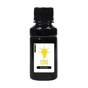 Tinta para Sublimação Premium Crie Sempre Black 100ml