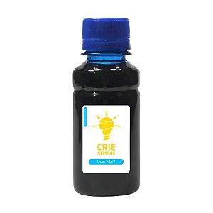 Tinta para Sublimação Premium Crie Sempre Cyan 100ml