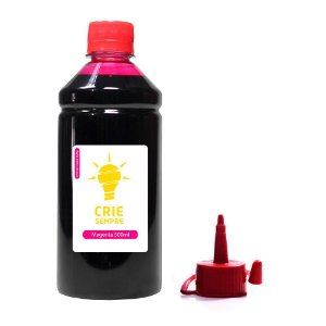 Tinta Sublimática para Epson L200   L355 Crie Sempre Magenta 500ml