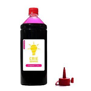 Tinta para Epson L575 Premium Crie Sempre Magenta 1 Litro Corante