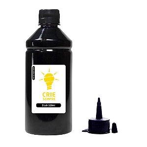 Tinta para Epson L1800 Premium Crie Sempre Black 500ml Corante
