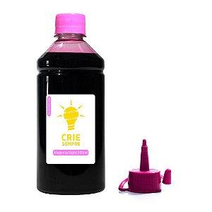 Tinta para Epson L1800 Crie Sempre PREMIUM Magenta Light Corante 500ml