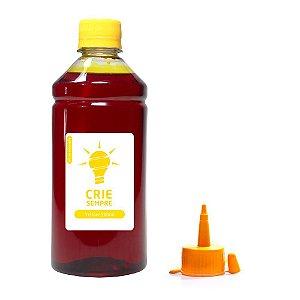 Tinta para Epson L475 Premium Crie Sempre Yellow 500ml Corante