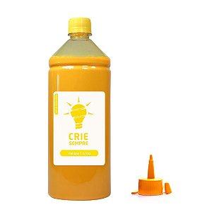 Tinta para Epson L365 Yellow Pigmentada Crie Sempre PREMIUM 1 Litro