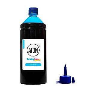 Tinta para Epson Bulk Ink T673 T673220 Cyan Aton 1 Litro