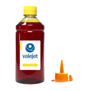 Tinta para Epson Bulk Ink L810 Yellow Corante 500ml Valejet