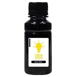 Tinta para Cartucho HP 934 | 934XL Black 100ml Pigmentada Crie Sempre
