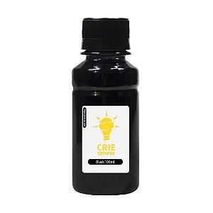 Tinta para HP GT 5822 Bulk Ink Black Corante 90ml + 10ml Grátis Crie Sempre
