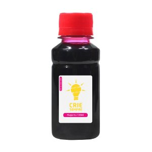 Tinta para HP GT 5822 Bulk Ink Magenta Corante 70ml + 30ml Grátis
