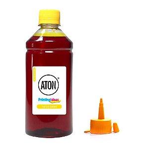 Tinta para Epson Ecotank L395   L 395 Yellow Aton Corante 500ml