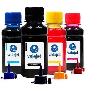 Kit 4 Tintas para Epson L606 Bulk Ink CMYK 100ml Aton