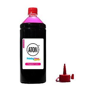 Tinta para Impressora Epson EcoTank L395 Magenta Corante 1 Litro Aton