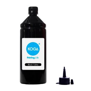 Tinta para Epson Bulk Ink L495 Black 1 Litro Corante Koga