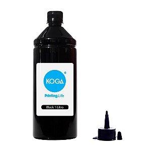 Tinta para Epson L375 Ecotank Sublimática Black 1 Litro Koga