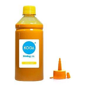 Tinta para Epson L375 Ecotank Sublimática Yellow 500ml Koga