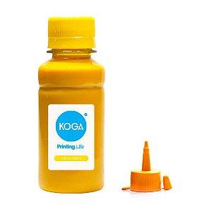 Tinta para Epson L375 Ecotank Sublimática Yellow 100ml Koga