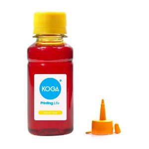 Tinta para Epson L120 Bulk Ink Yellow 100ml Corante Koga