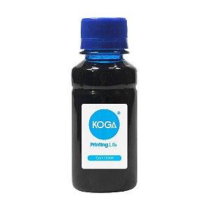 Tinta Bulk Ink Sublimática para Impressora Epson T673 Cyan 100ml Koga